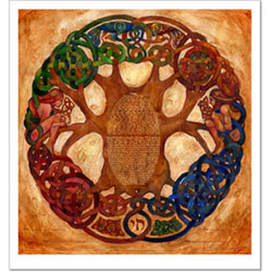 Celtic Tree Of Life kstudio by Claire Carter